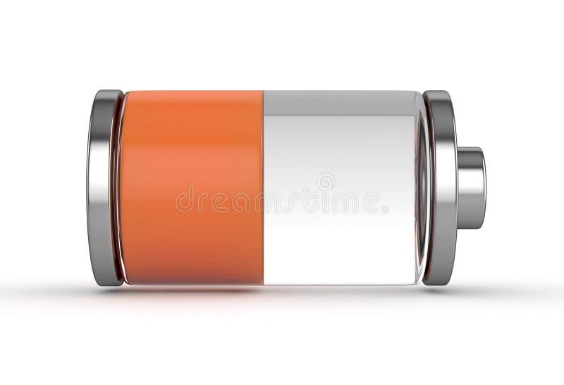 媒体电池 向量例证