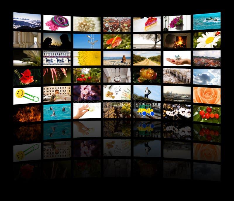 媒体空间 图库摄影