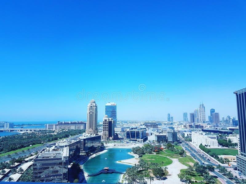 媒介城市 免版税库存图片