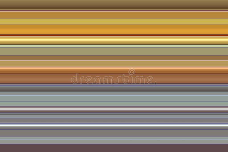嬉戏的金子灰色褐色 线路 快乐的纹理和样式 免版税库存照片