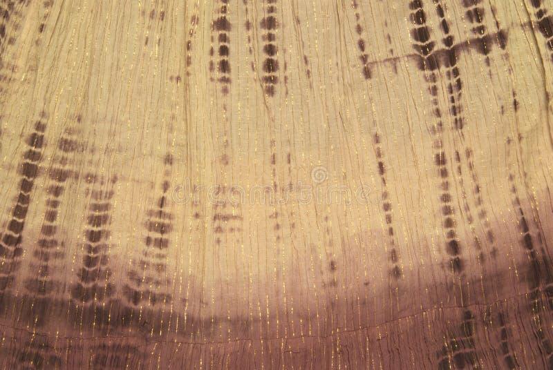 嬉皮关系染料织品 免版税库存图片