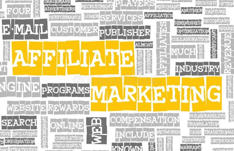 子公司营销 向量例证