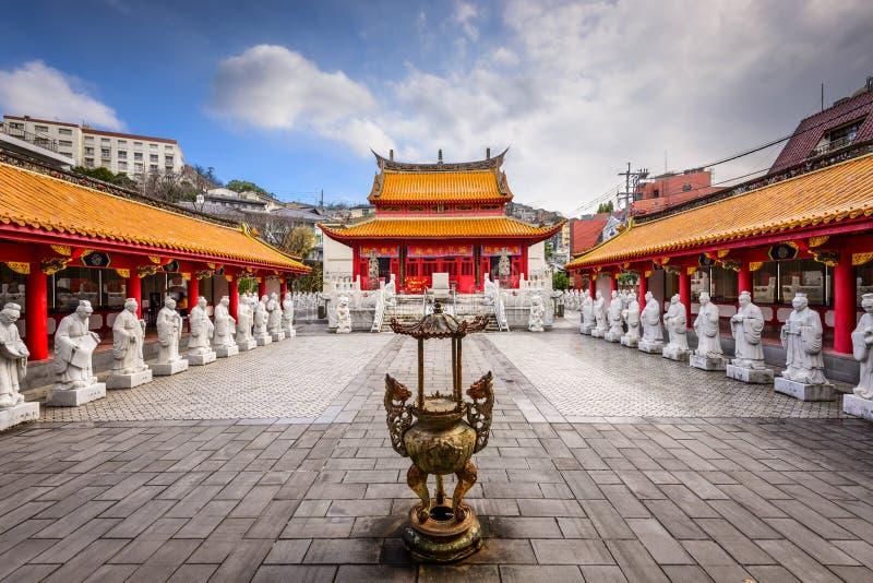 孔子寺庙在长崎 免版税库存照片
