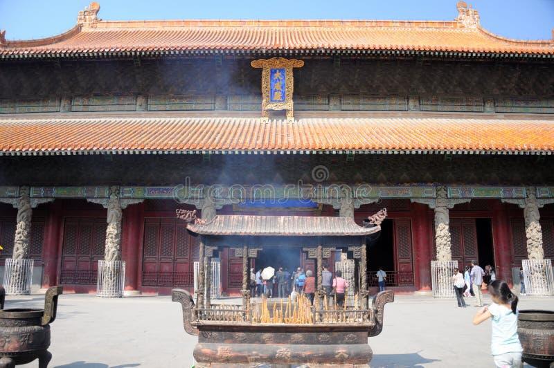 孔子寺庙 免版税图库摄影