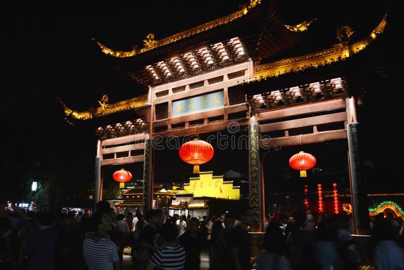 孔子寺庙 图库摄影