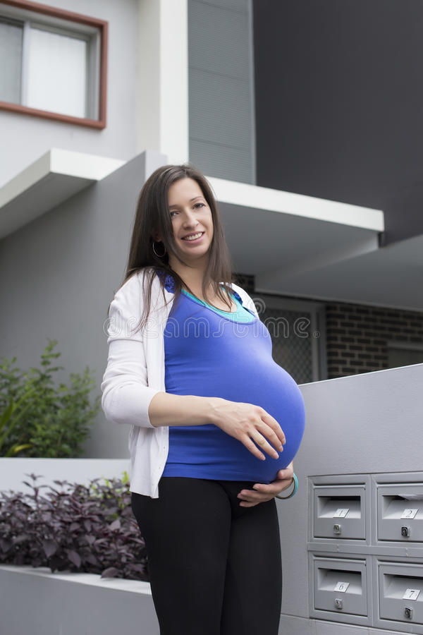 孕妇 库存照片