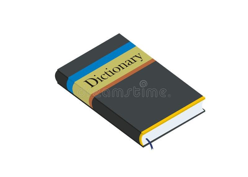 字典简单的例证 库存例证