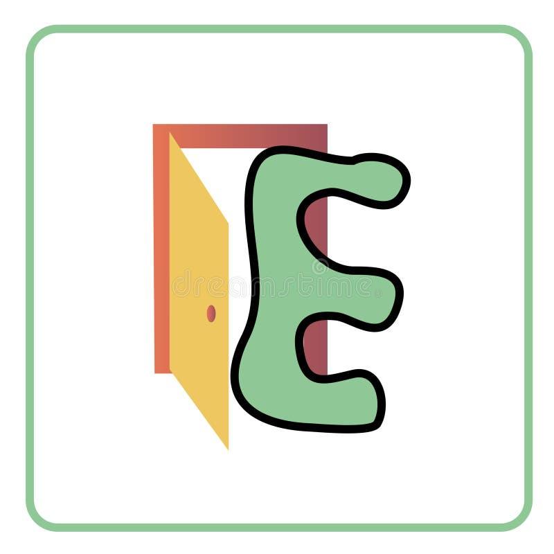 字母表子项 库存例证