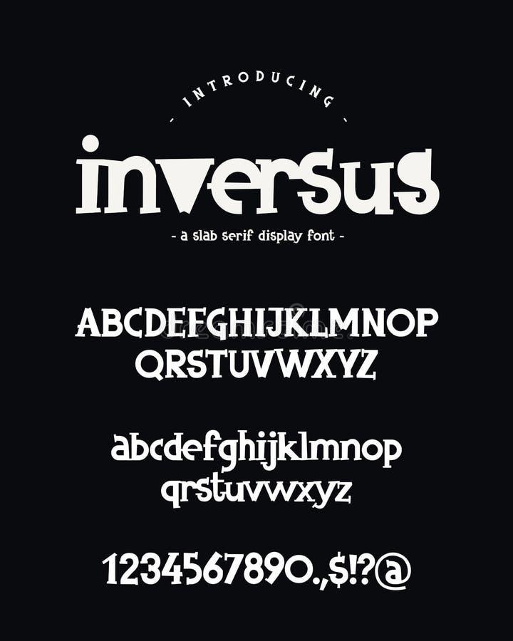 字母表 大写,小写字母、数字和标志 皇族释放例证