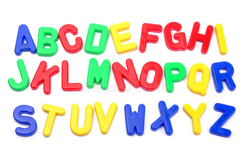 字母表 免版税库存图片