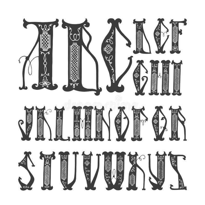 字母表 库存例证