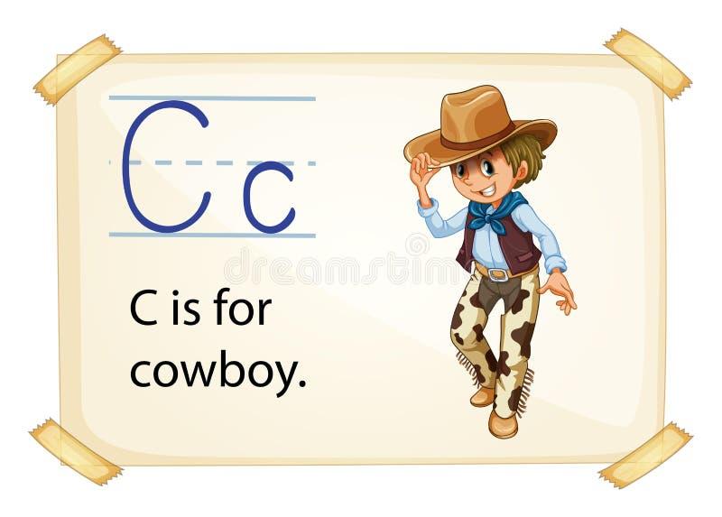字母表C 库存例证