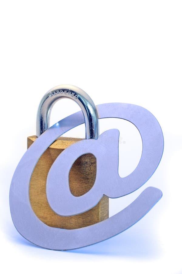 存取互联网安全 免版税库存照片