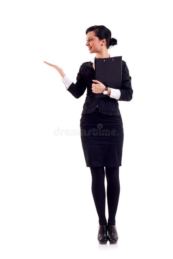 存在妇女的商业 库存图片