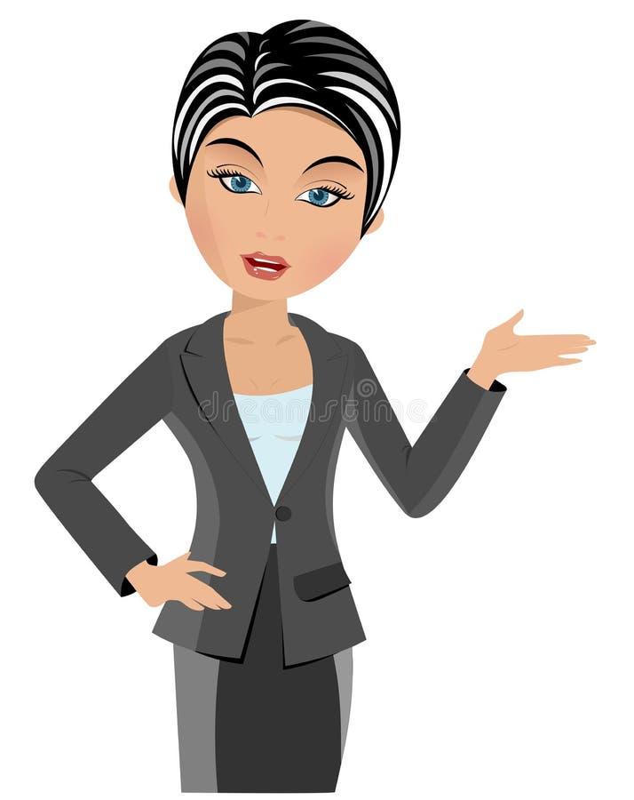 存在妇女的商业 皇族释放例证
