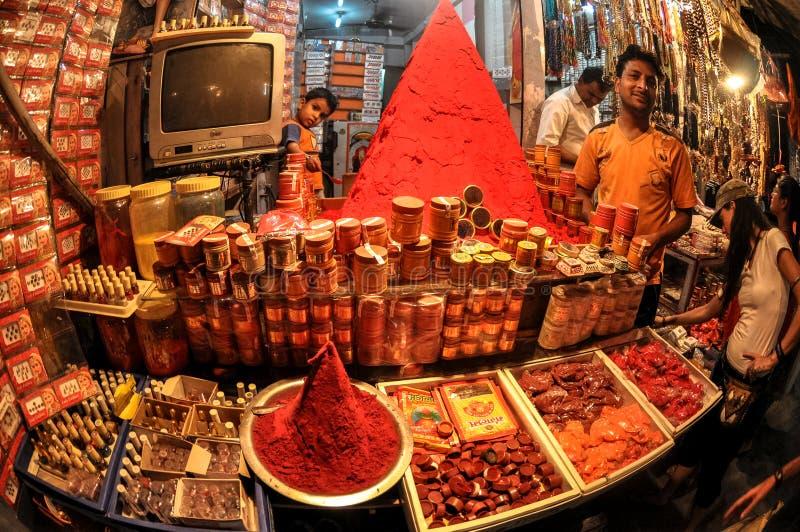 存放前面金字塔,瑞诗凯诗,印度 免版税库存图片
