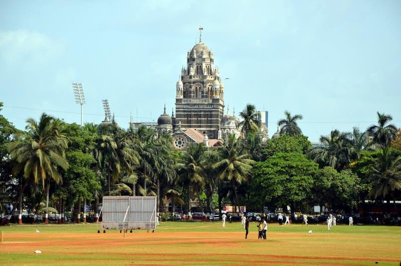 孟买城市视图  库存图片