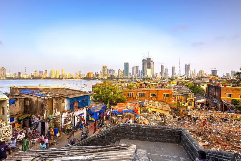 孟买市,印度 库存图片