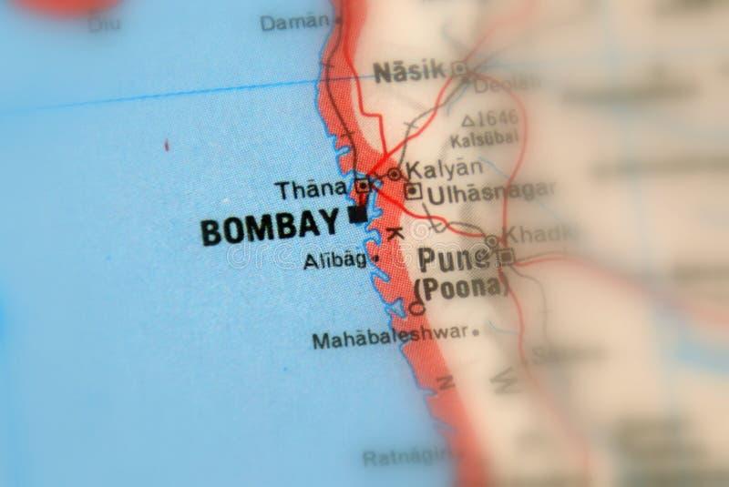 孟买,一个城市在印度 免版税库存照片