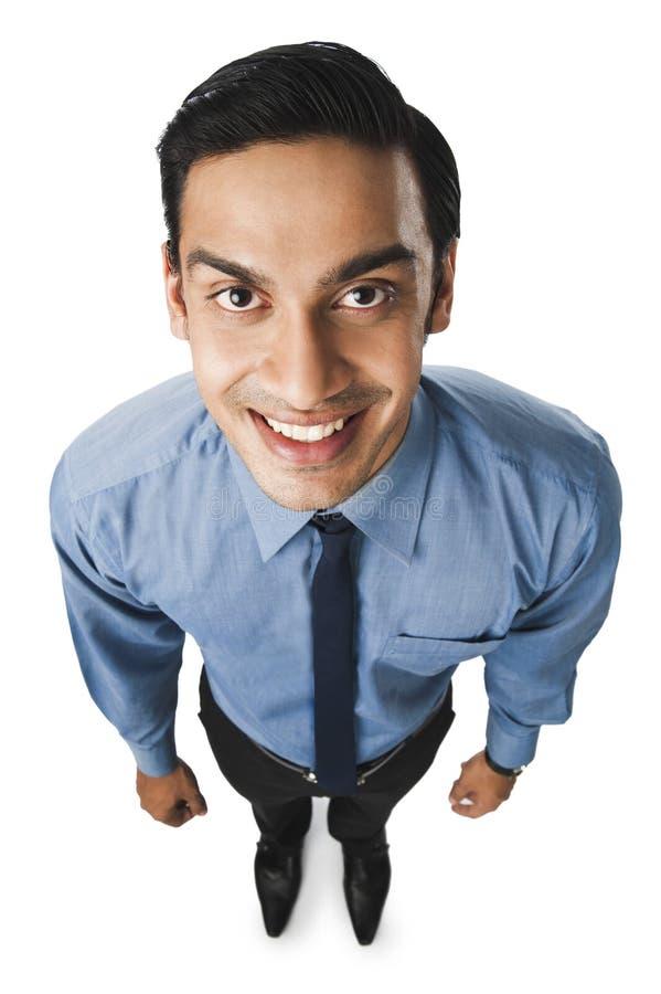 孟加拉商人微笑 库存照片