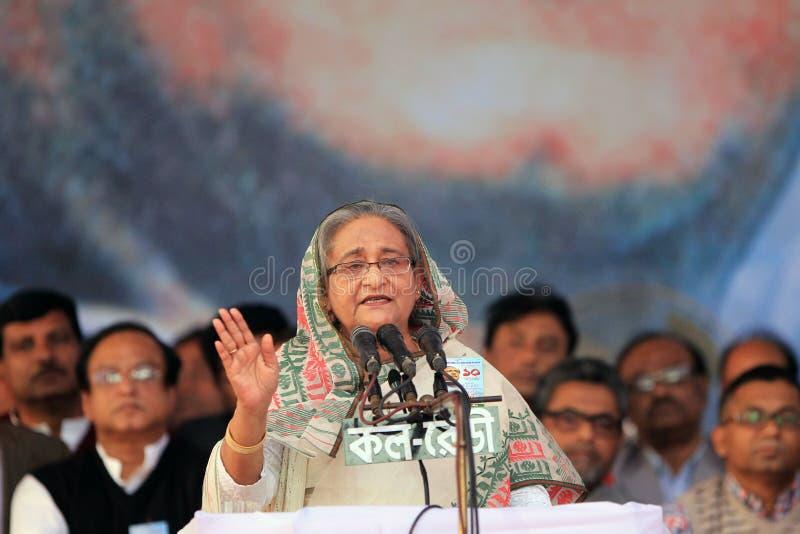 孟加拉国人民联盟全国民政会议  图库摄影