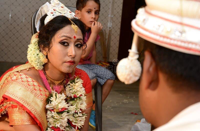 孟加拉夫妇 库存照片