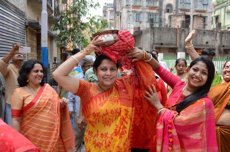 孟加拉婚礼 免版税库存照片