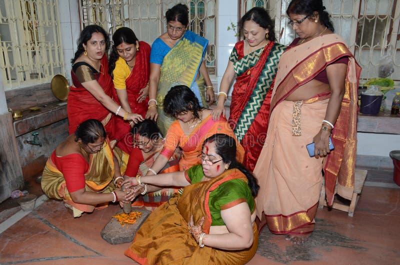 孟加拉仪式 免版税库存图片