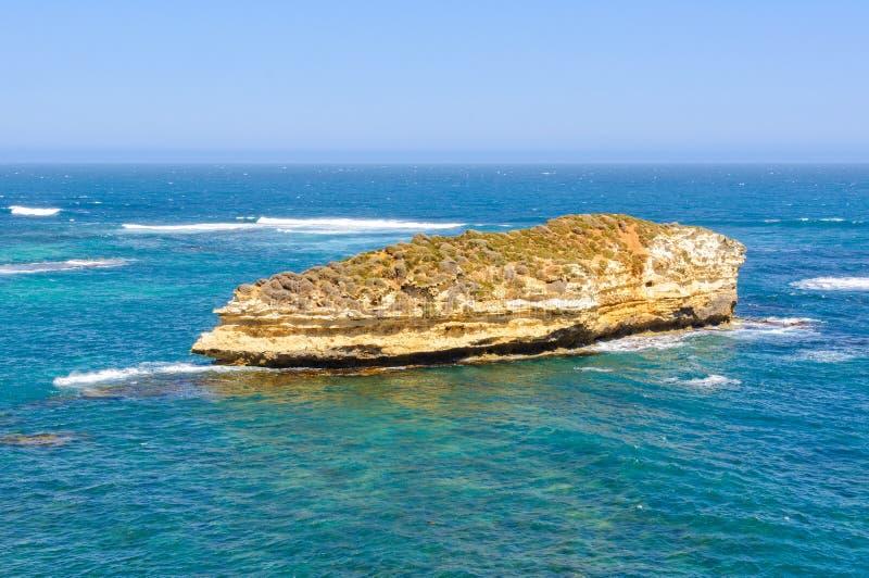 孤立海岛-海岛海湾  图库摄影