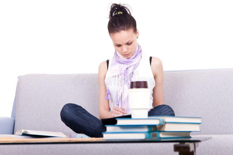 Download 学习年轻人的女学生 库存图片. 图片 包括有 学员, 纵向, 学校, 生活方式, 家庭作业, 了解, 少年 - 15690607