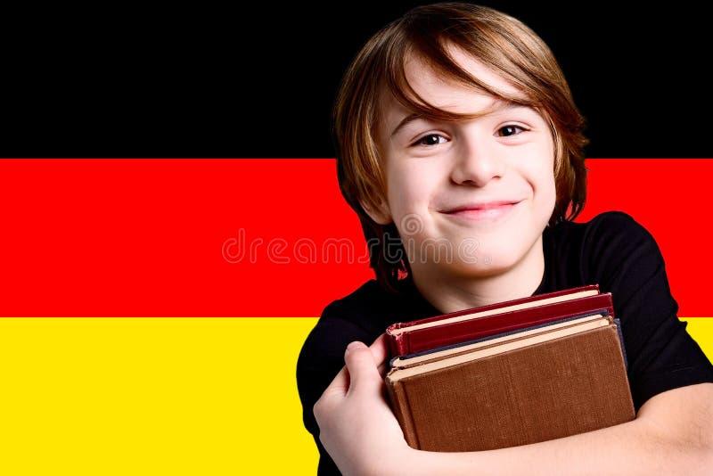 学会德语 库存照片
