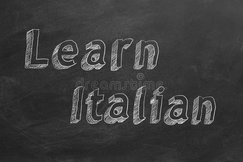 学会意大利语 向量例证