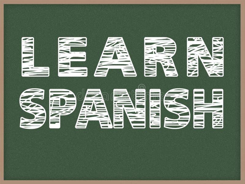 学会西班牙语 图库摄影