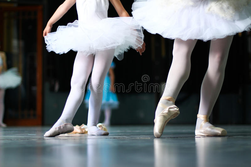 学会跳舞7 库存照片