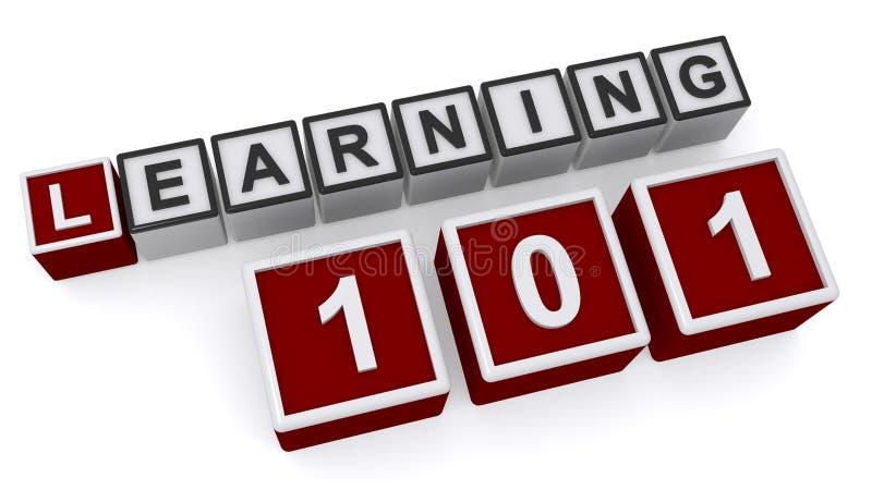 学会101字组 向量例证