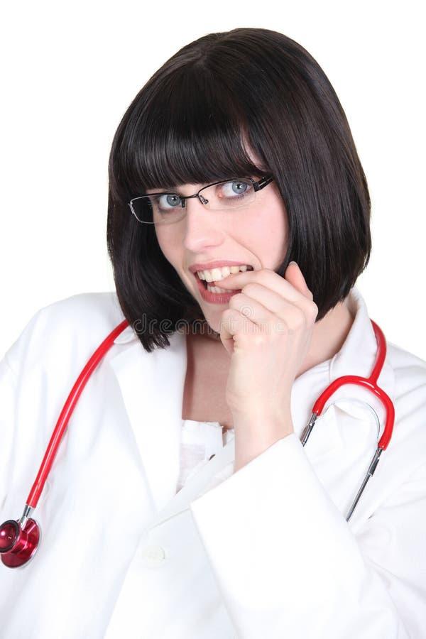 年轻医学助理 图库摄影