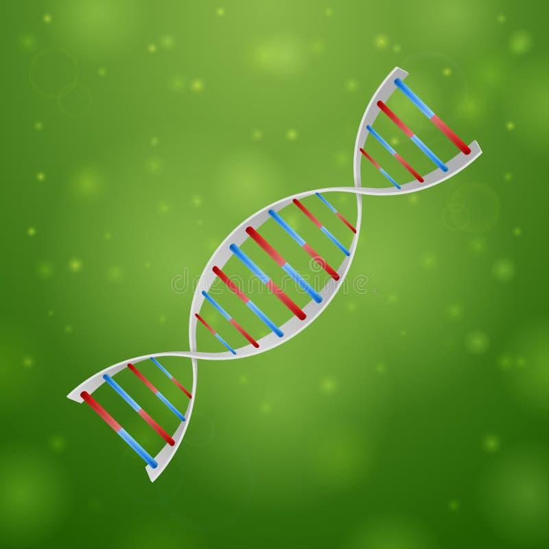 医学和核糖核酸 库存例证
