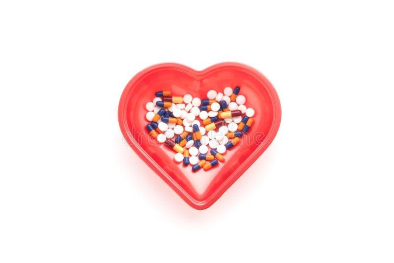 医学和药片的治疗 免版税库存照片