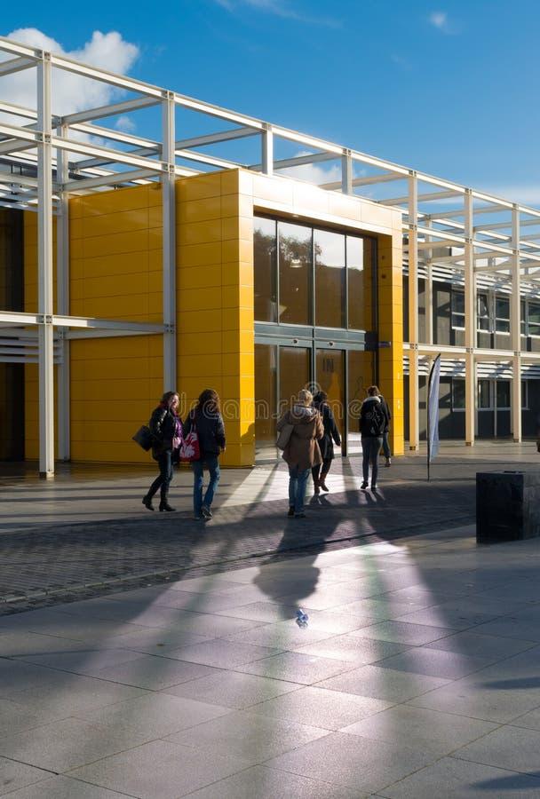 学校入口 免版税图库摄影