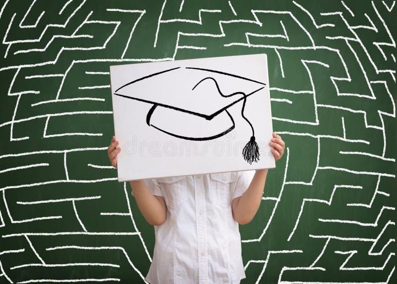 学校和教育的重要性 库存照片
