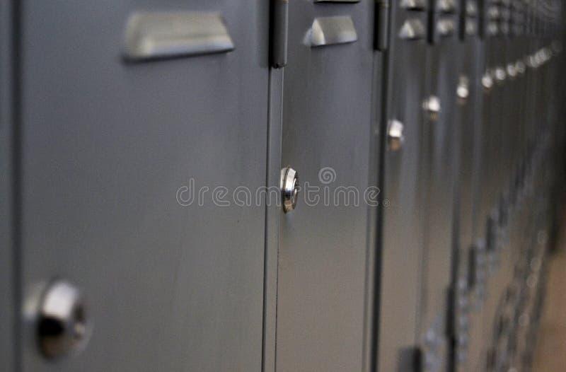学校安全箱 库存照片