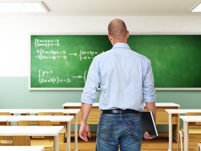 学校教师 免版税图库摄影
