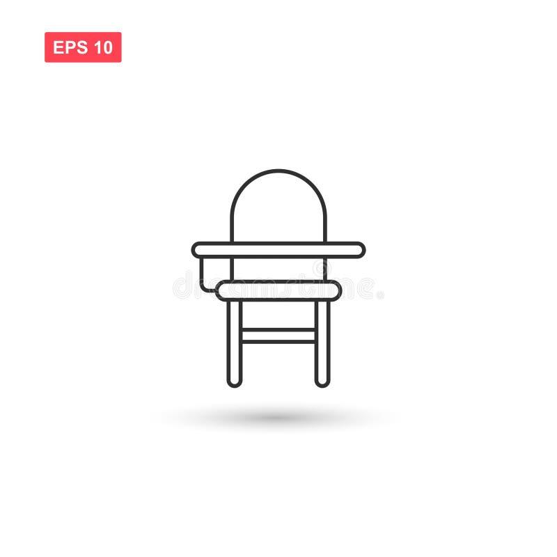 学校椅子象传染媒介隔绝了2 皇族释放例证
