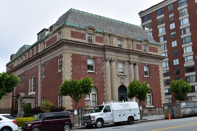 学校耶稣圣心旧金山,格兰特豪宅, 2 免版税图库摄影