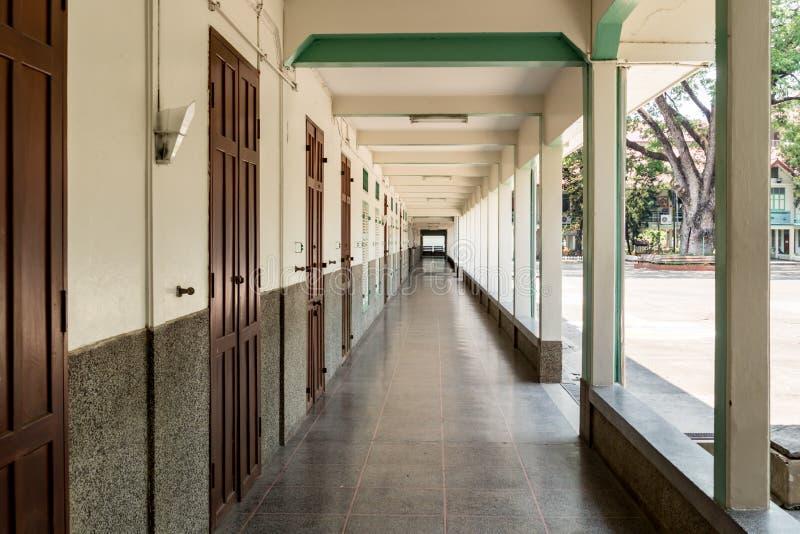 学校阳台 库存图片