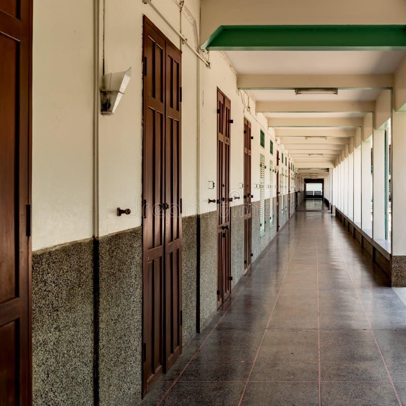 学校阳台 免版税库存照片
