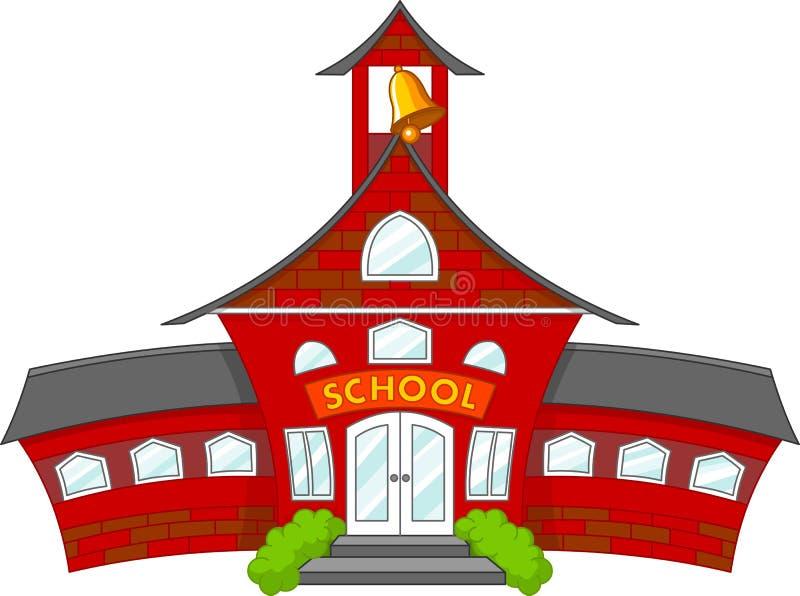学校 皇族释放例证