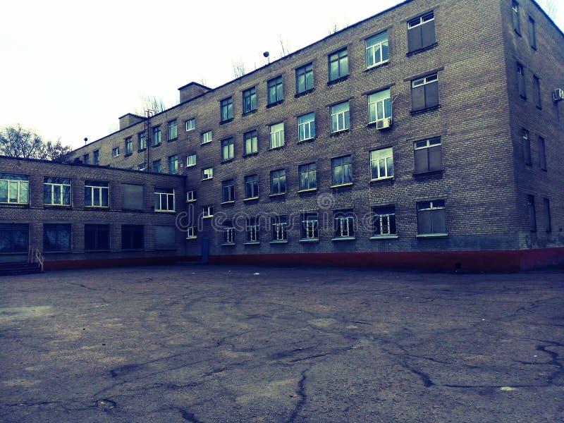 学校 图库摄影