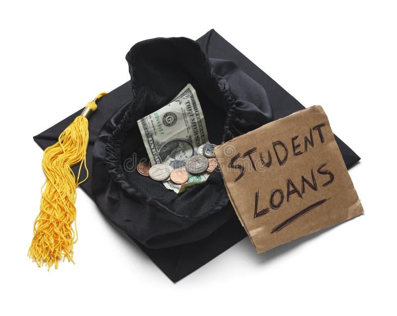 学生贷款负债 免版税库存图片
