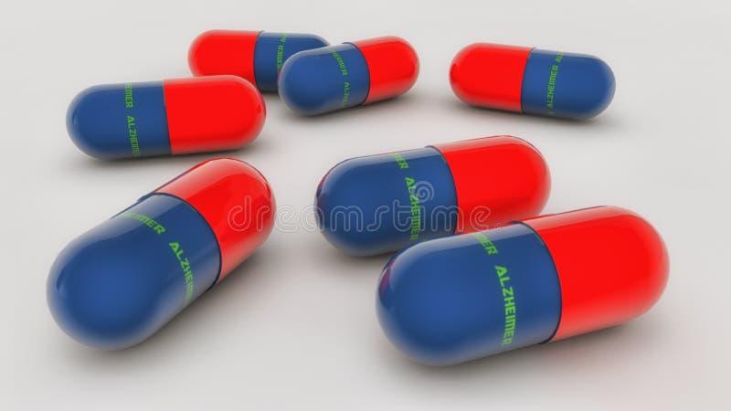 医学胶囊 向量例证